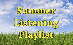 Summer Listening Playlist - Sidebar