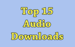 Top 15 Audio Downloads Sidebar