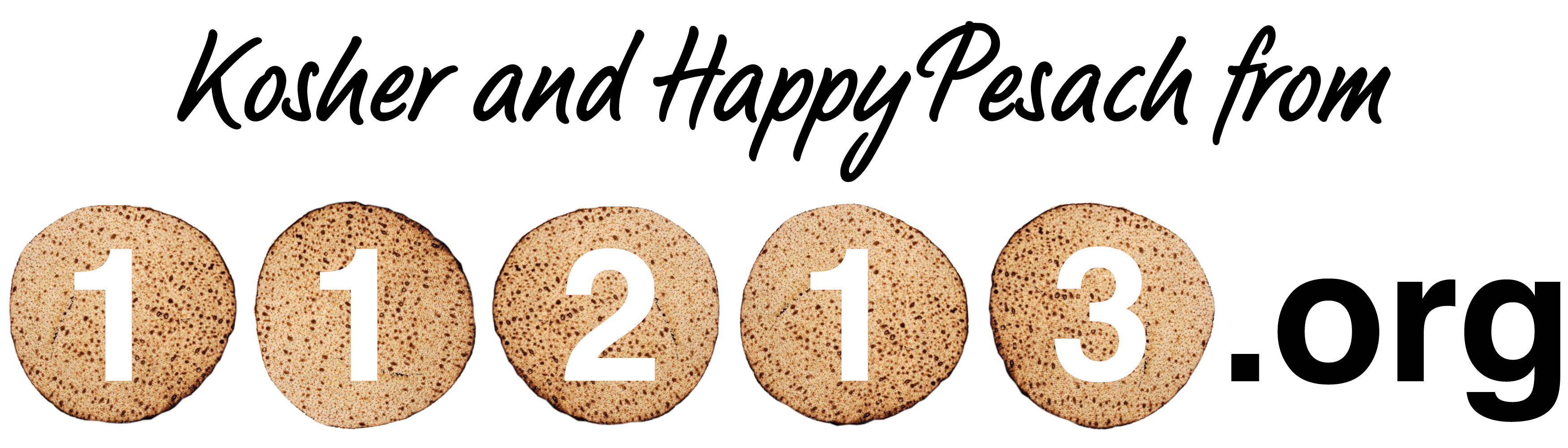 Kosher and Happy Pesach From 11213.org