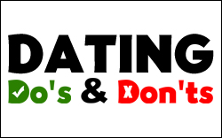 Dating Do's & Don'ts - Sidebar