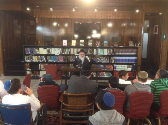8th Grade Yeshiva Darchai Menachem – Challenge Day - We Have It All Backwards