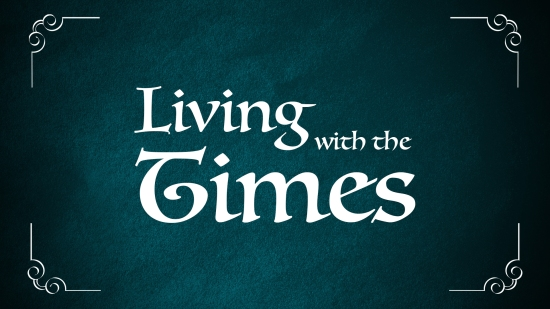living with the times - graphic